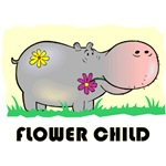 Flower Child Hippo