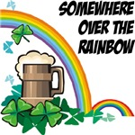 Over the Rainbow St. Patrick's Day T-Shirts