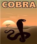 Poster-Style Cobra T-Shirts
