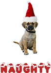 Puggle T-Shirt - Naughty Christmas
