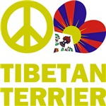 Peace Love Tibetan Terrier