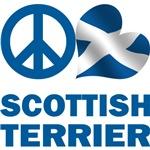 Peace Love Scottish Terrier