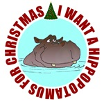 Hippo for Christmas