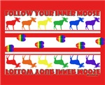 Rainbow Moose Tracks