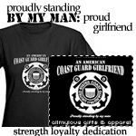 An American Coast Guard Girlfriend Dark Apparel