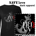 Navy Love Dark Apparel