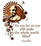 Funky Gandhi -An eye for an eye...