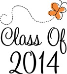 Class of 2014 Butterfly Graduate Gifts & Tees