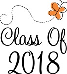 Class of 2018 Butterfly Graduate Gifts & Tees