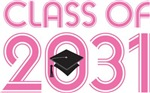 Class of 2031 Future Graduation T-shirts