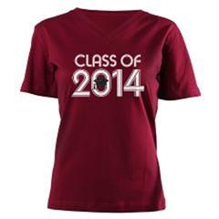 Class of 2028 Grad Hat Logo T-shirts