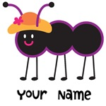 Personalized Ant Bug Kids T-shirts