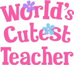 Worlds Cutest Teacher Gifts and T-shirts