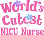 Worlds Cutest NICU Nurse Gifts and T-shirts