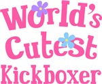 Worlds Cutest Kickboxer Gifts and T-shirts