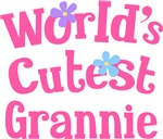 Worlds Cutest Grannie Gifts and T-shirts
