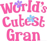 Worlds Cutest Gran Gifts and T-shirts