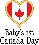 Babys 1st Canada Day