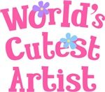 Worlds Cutest Artist Gifts and T-shirts