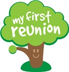 My First Family Reunion Kids T-shirts