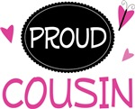 Proud Cousin Butterfly T-shirts and Gifts