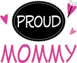 Proud Mommy Butterfly T-shirts and Gifts