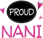 Proud Nani Butterfly T-shirts and Gifts