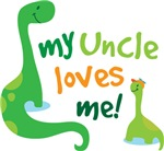 My Uncle Loves Me Dinosaur T Shirts for