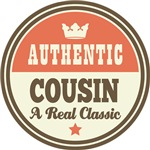 Authentic Cousin Vintage Gifts and T-Shirts