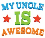 My Uncle Is Awesome baby tshirts