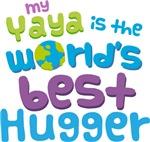 Yaya Is Worlds Best Hugger