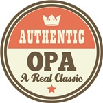 Authentic Opa Vintage Gifts and T-Shirts