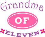 Grandma Of Eleven T-shirt Gifts