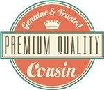 Premium Vintage Cousin Gifts and T-Shirts
