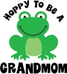Hoppy to be a Grandmom Gifts and T-shirts