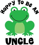 Hoppy to be an Uncle Gifts and T-shirts