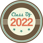 Vintage Class of 2022 School T-shirts