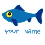 Personalized Fish T-shirts