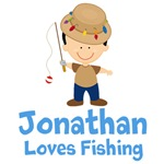 Personalized Boys Fishing T-shirts