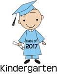 Class of 2017 Kindergarten Graduate