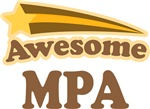 Awesome MPA Gifts T-shirts