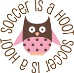 SOCCER IS A HOOT OWL TEES AND GIFTS