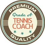 Tennis Coach vintage T-shirts
