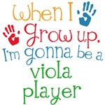 Future Viola Player Kids Music Tees