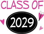 Cute Class of 2029 Pride T-shirts