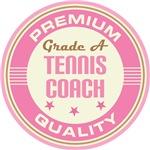 Tennis Coach vintage logo T-shirts
