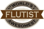 Flutist (World's Awesomest) Tshirt Gifts