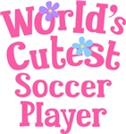Worlds Cutest Soccer Player Gifts and Tshirts