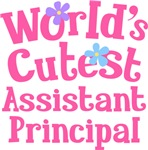 Worlds Cutest Assistant Principal Gifts and Shirts