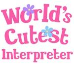 Worlds Cutest Interpreter Gifts and Tshirts